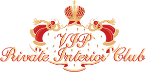 VIP Privat Interior Club Logo Vector