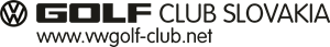 VW Golf Club Slovakia Logo Vector