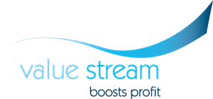 Value Stream Logo Vector