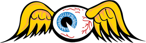 Von Dutch Eyeball Logo Vector