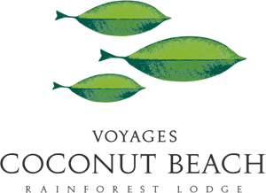 Voyages Coconut Beach Logo Vector