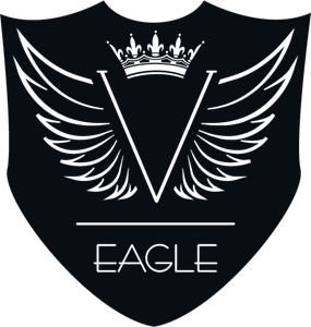 V Eagle Logo Vector