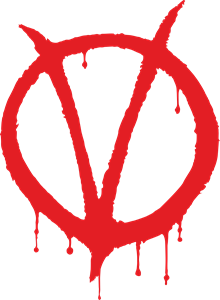 V for Vendetta Logo Vector