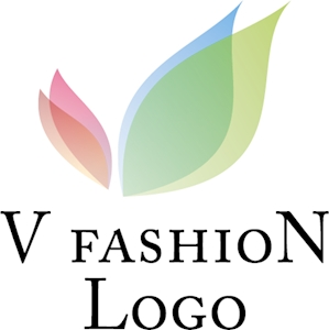 V Letter Fashion Logo Vector