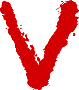 V (The Visitors) Logo Vector