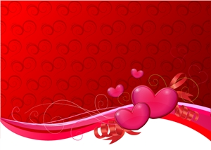 valentine background Logo Vector