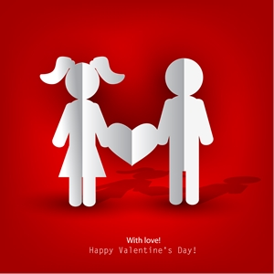 Valentine Day Logo Vector Ai Free Download