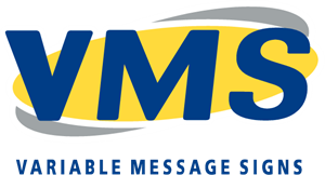 Variable Message Signs (VMS) Logo Vector