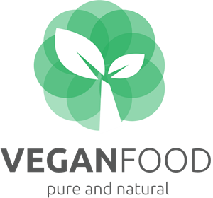 VEGAN FOOD Logo Vector