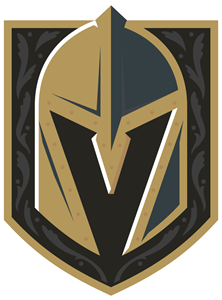 Vegas Golden Knights detailed primary Logo Vector