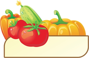 Vegetables Food Logo Vector