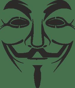 V For Vendetta Mask Vector vendetta mask Logo Vec...