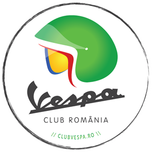 Vespa Club Romania Logo Vector