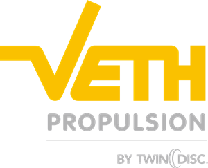 Veth Propulsion by Twin Disc Logo Vector
