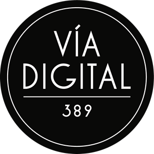 Vía Digital 389 Logo Vector