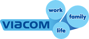 Viacom Work, Life, Family Logo Vector