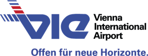 VIE Vienna International Airport Logo Vector