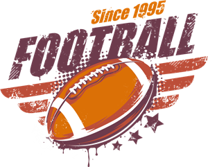 vintage american football logo vector eps free download