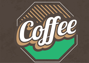 Vintage coffee Logo Vector