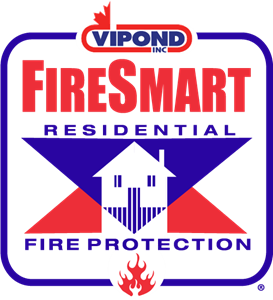 Vipond Fire Smart Logo Vector