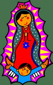 Virgen De Guadalupe Logo Vector (.CDR) Free Download