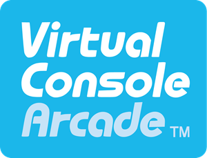 Virtual Console Arcade Logo Vector