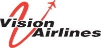 Vision airlines Logo Vector