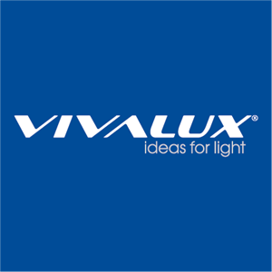 VIVALUX ideas for light Logo Vector