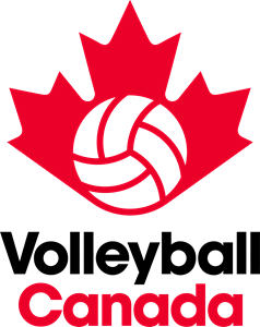 Volleyball Canada Logo Vector