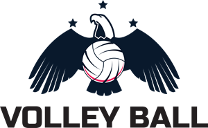 Volleyball Logo Vector