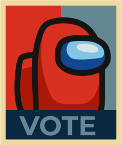 vote among us Logo Vector