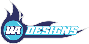 WA Designs Logo Vector