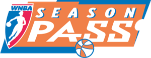 WNBA Season Pass Logo Vector