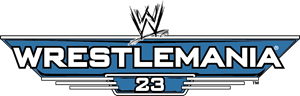 WWE WrestleMania 23 Logo Vector