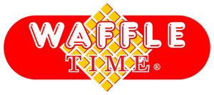 Waffle Time Logo Vector