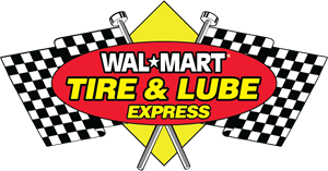 Wal-Mart Tire & Lube Express Logo Vector