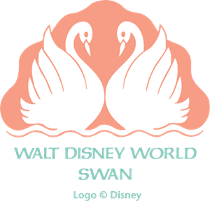 Walt Disney World Swan Logo Vector