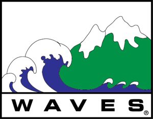 Waves Logo Vector