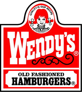 Wendy's Old Fashioned Hamburgers Logo Vector