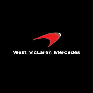 West McLaren Mercedes Logo Vector