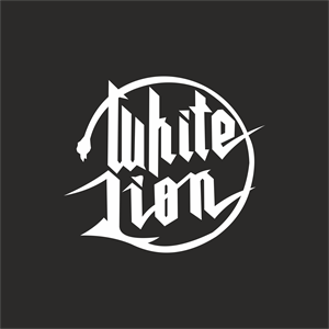 White Lion Logo Vector