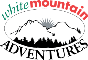 White Mountain Adventures Logo Vector