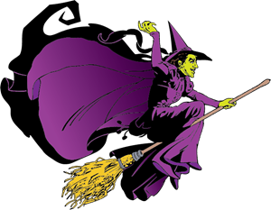 Wicked Witch of the West Logo Vector