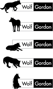 Wolf Gordon Logo Vector