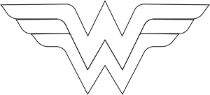 WonderWoman Logo Vector