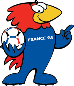 World Cup France 98 Logo Vector