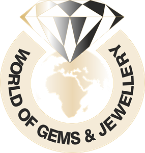 World of Gems & Jewellery Logo Vector