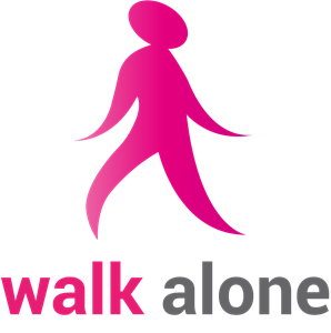 Walk Alone Logo Vector