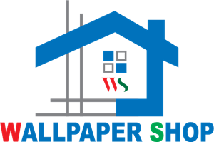 Wallpaper Shop Logo Vector