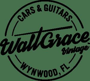 Walt Grace Vintage Logo Vector